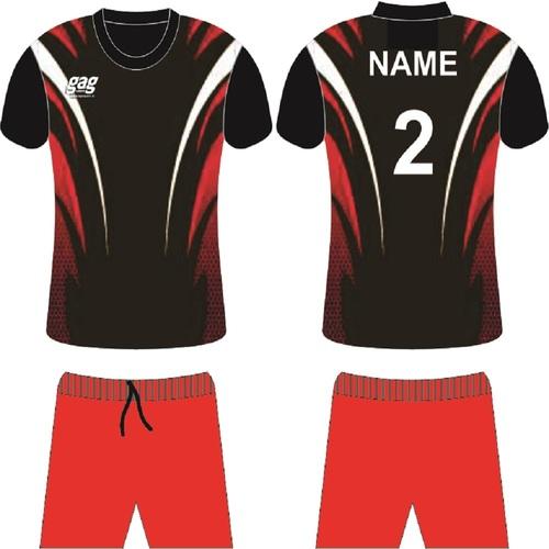 Multicolour Soccer Jersey Set