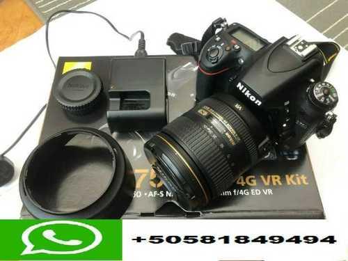 Nikon D750 Digital SLR Camera AF S NIKKOR 24 120mm F/4G ED VR Lens