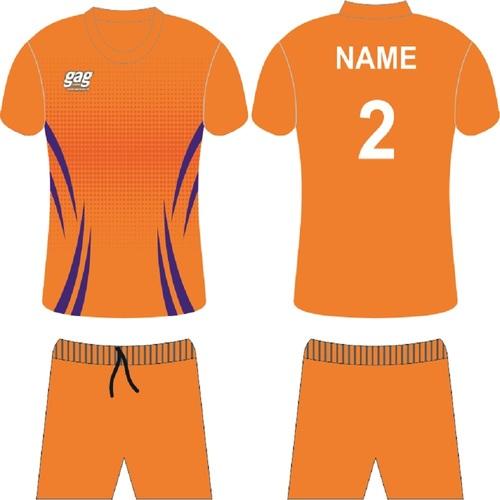 O Neck Half Sleeve Soccer Jersey Set