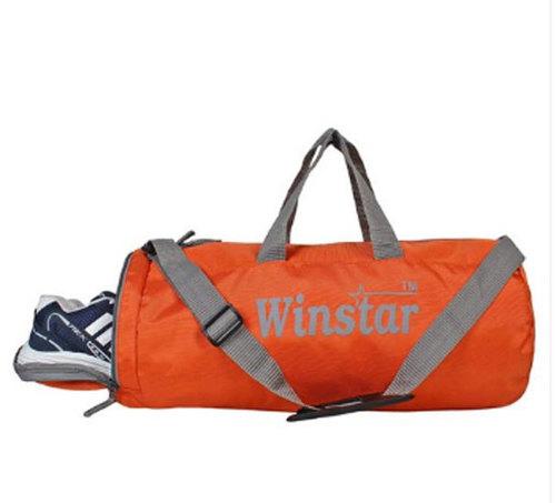 Orange Colored Gym Bag
