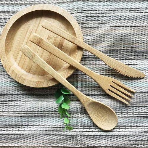 Reusable Bamboo Cutlery Set