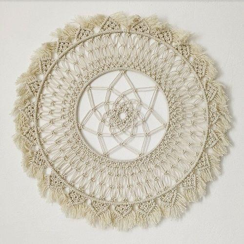 100% Cotton Macrame Mandala