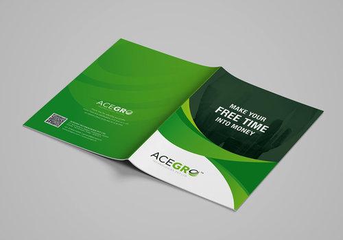 Acegro Brochure Design Services