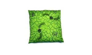 Beaded Embroidered Cushion Cover