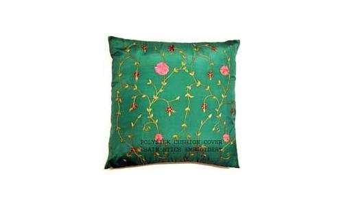 Chain Stitch Cushion Cover