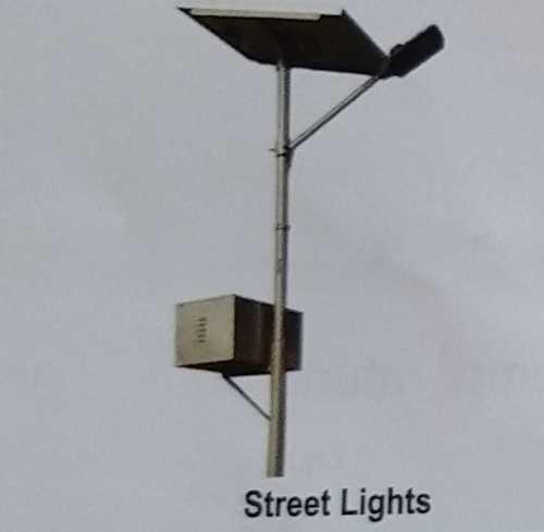 LED Street Light With Set of Steel Pole