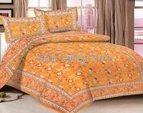 Pure Cotton Printed Bed Sheet