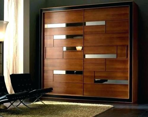 Pure Wooden Sliding Wardrobe