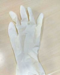 White Disposable Hand Gloves