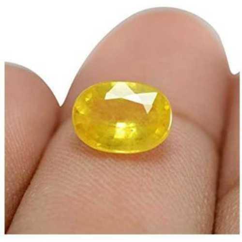 Yellow Color Natural Gemstone