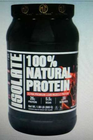 100% Natural Soy Protein Isolate