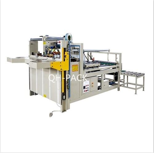 2800 Semi-auto Corrugated Cardboard Folder Creasing and Gluer Machine