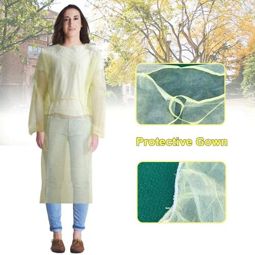 Anti Particle Disposable Isolation Gowns