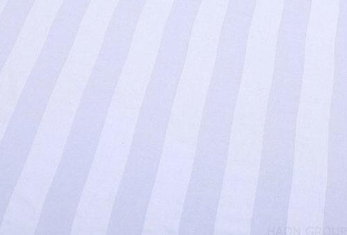 Anti Shrink White Plain Bed Sheets
