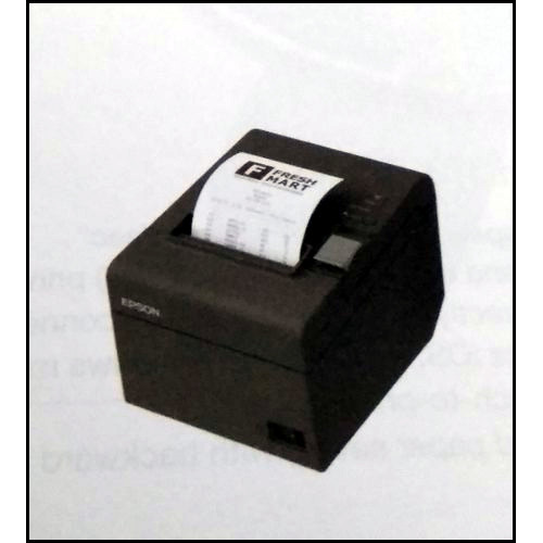 Black Color Bill Printer