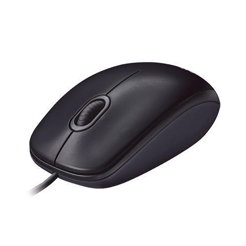 Black Color Wired Mouse