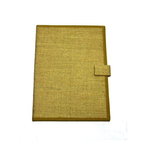 Brown Jute File Folder