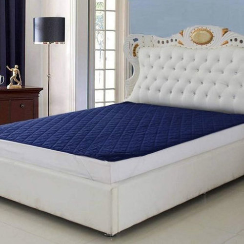 Cotton Microfiber Double Bed Quilted Mattress