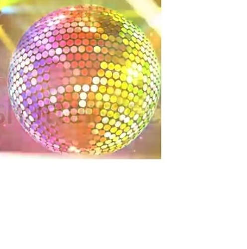Disco Light Mirror Ball