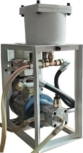 Hydraulic Oil Cleaning System