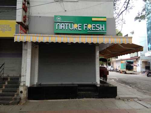 Plain Fixed Awnings for Shop