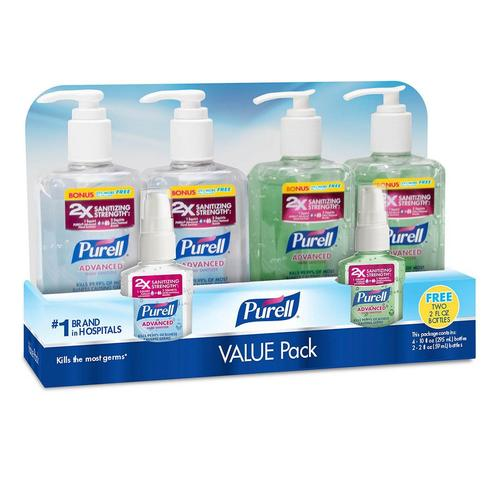 Purell Advanced Hand Sanitizer, Pump Original
