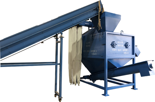 Waste Plastic Films Dry Cleaning Machine