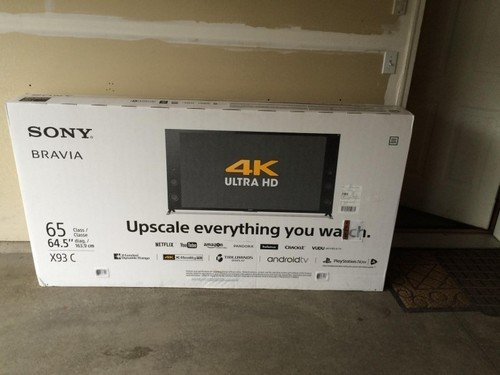 XBR65X900F 65-Inch 4K Ultra HD Smart LED TV With Alexa Compatibility