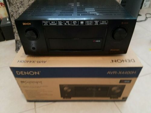 Denon AVR-X4400H 9.2CH High Power 4K Ultra HD AV Receiver