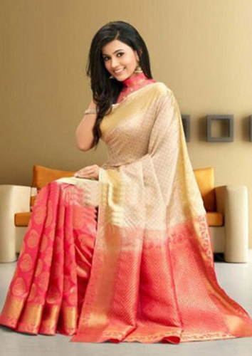 Ladies Wedding Silk Saree