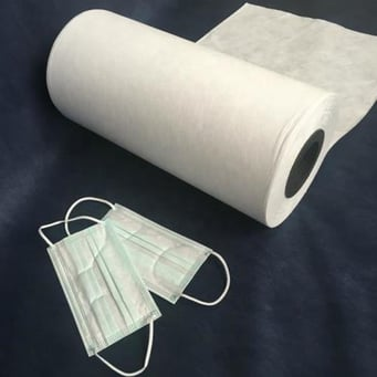 White Meltblown Non Woven Fabric For Face Mask at Price Range 1000.00 -  12.00 USD/Ton in California City | ID: 6342366