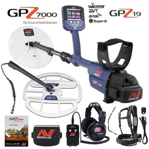 Minelabs Gpz 7000 All Terrain Gold Metal Detector With Gpz 19 Search Coil Certifications: New Original