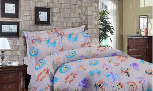 Multi Color Cotton Bed Linen