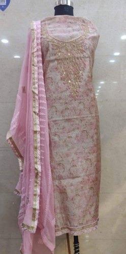 Alluring Design Ladies Cotton Suit