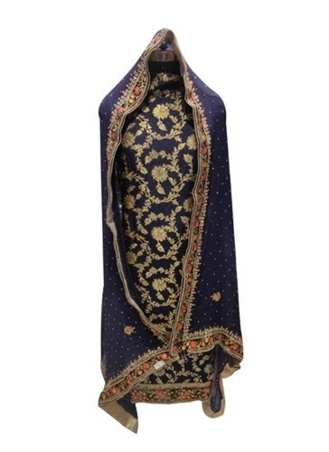 Multicolor Banarasi Ladies Cotton Suit