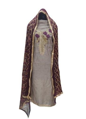 Captivating Design Chanderi Suit