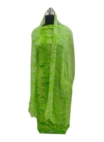 Green Color Ladies Cotton Suit