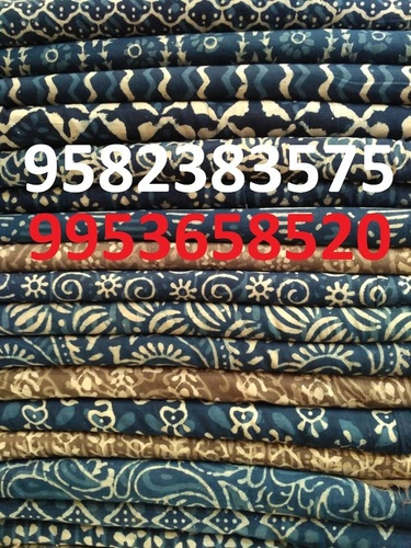Indigo Printed Cotton Fabrics