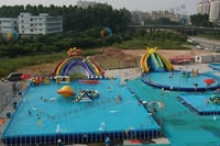 Inflatable Water Pool Slides
