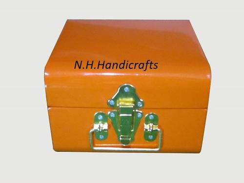 Iron Orange Powder Coated Trunk
