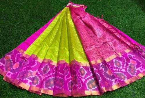 Ladies Traditional Printed Kuppadam Saree