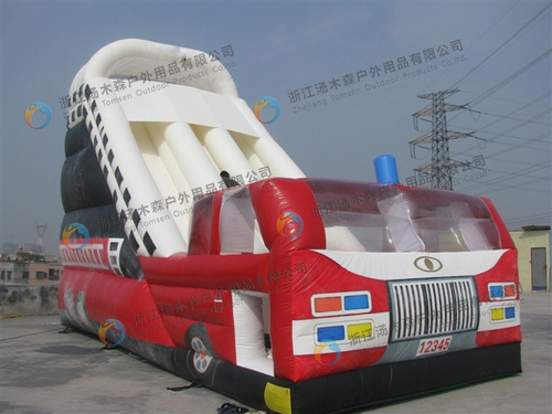 Multi Color Inflatable Water Park