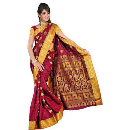 Party Wear Ladies Silk Saree