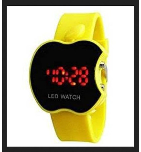 Yellow Color Kids Watch