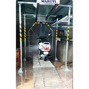 Automatic Two-Wheeler Open Type Wash System