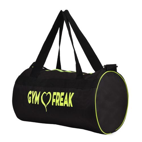 Black Color Gym Canvas Duffel Bag