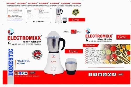 Electromixx 450 Watts Mixer Grinder