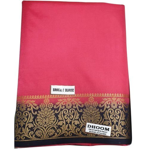 Ladies Balatan Butta Rich Pallu Cotton