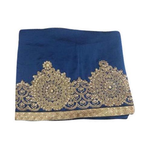 Ladies Heavy Embroidery Border Saree