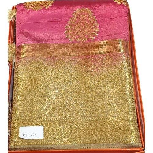 Ladies Party Wear Handloom Silk Saree